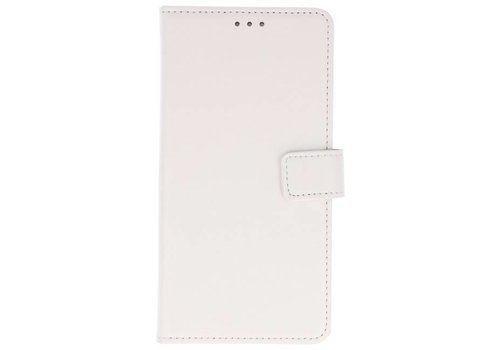 Bookstyle Wallet Cases Hoes voor Huawei P Smart Wit