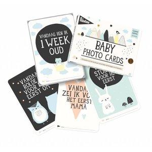 MILESTONE MILESTONE BABY CARDS 'OVER THE MOON'