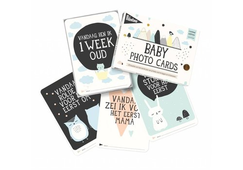 MILESTONE MILESTONE BABY CARDS 'OVER THE MOON'