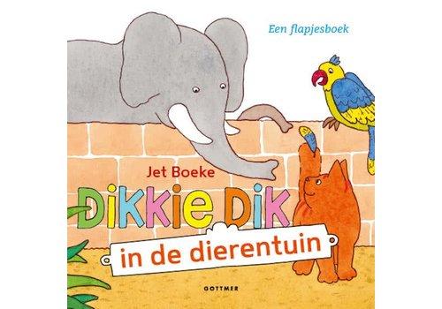 DIKKIE DIK IN DE DIERENTUIN - FLAPJESBOEK