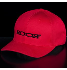 ROOR Germany ROOR flexfit cap red/black large-xlarge