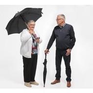 Paraplu/wandelstok combinatie