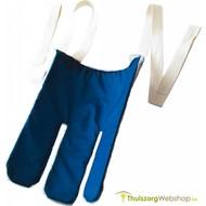 Enfile-bas recouvert de tissu éponge