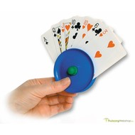 Speelkaartenhouder- waaiervorm
