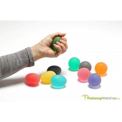 Oeuf d'exercices ergonomique (Premium) - Eggsercizer® - en 5 forces