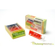 Boîte à  médicaments enfants  avec  5 compartiments par jour