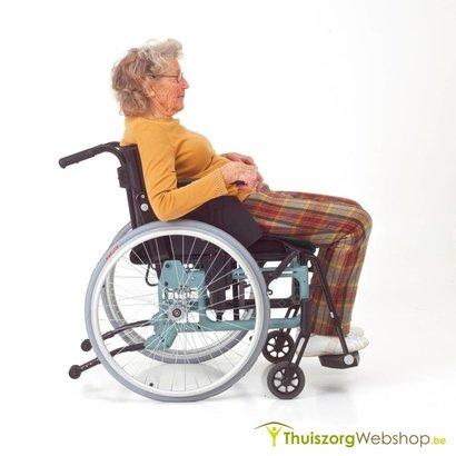 One way glide - Zet gemakkelijk iemand rechtop! -  voor rolstoel of voor zetel