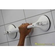 Wandbeugel met vaste lengte op zuignap met veiligheidsindicator