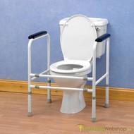 Toiletkader - extra stevig en regelbaar