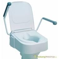 Hoogteverstelbare toiletverhoger