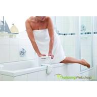 Verstelbare handgreep voor op de badrand