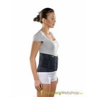 Bandage pour le dos avec un double croisillon