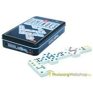 Domino vergroot en met kleurencodes