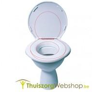 Toiletbril voor zwaarlijvige personen
