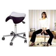 Werk/trippelstoel met zadelvorm Swippo