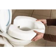 Toiletverhoger Novelle Clip-on, fixatie zonder klemschroeven