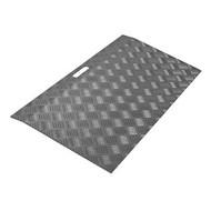 Drempelplaat aluminium met poedercoating