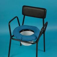 Coussin en forme de bouée pour chaise percée