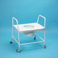 Cadre de toilette avec lunette XL Homecraft