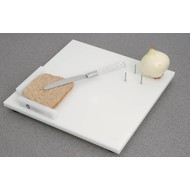 Keuken- en boterhamplank met fixatiepinnen