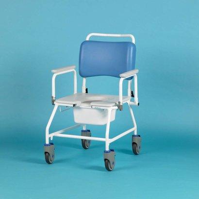 Chaise de douche/percée avec roulettes bariatrics Atlantic