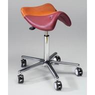 Werk/trippelstoel zadelvorm Swippo Lady