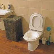 Bidet voor standaard toilet