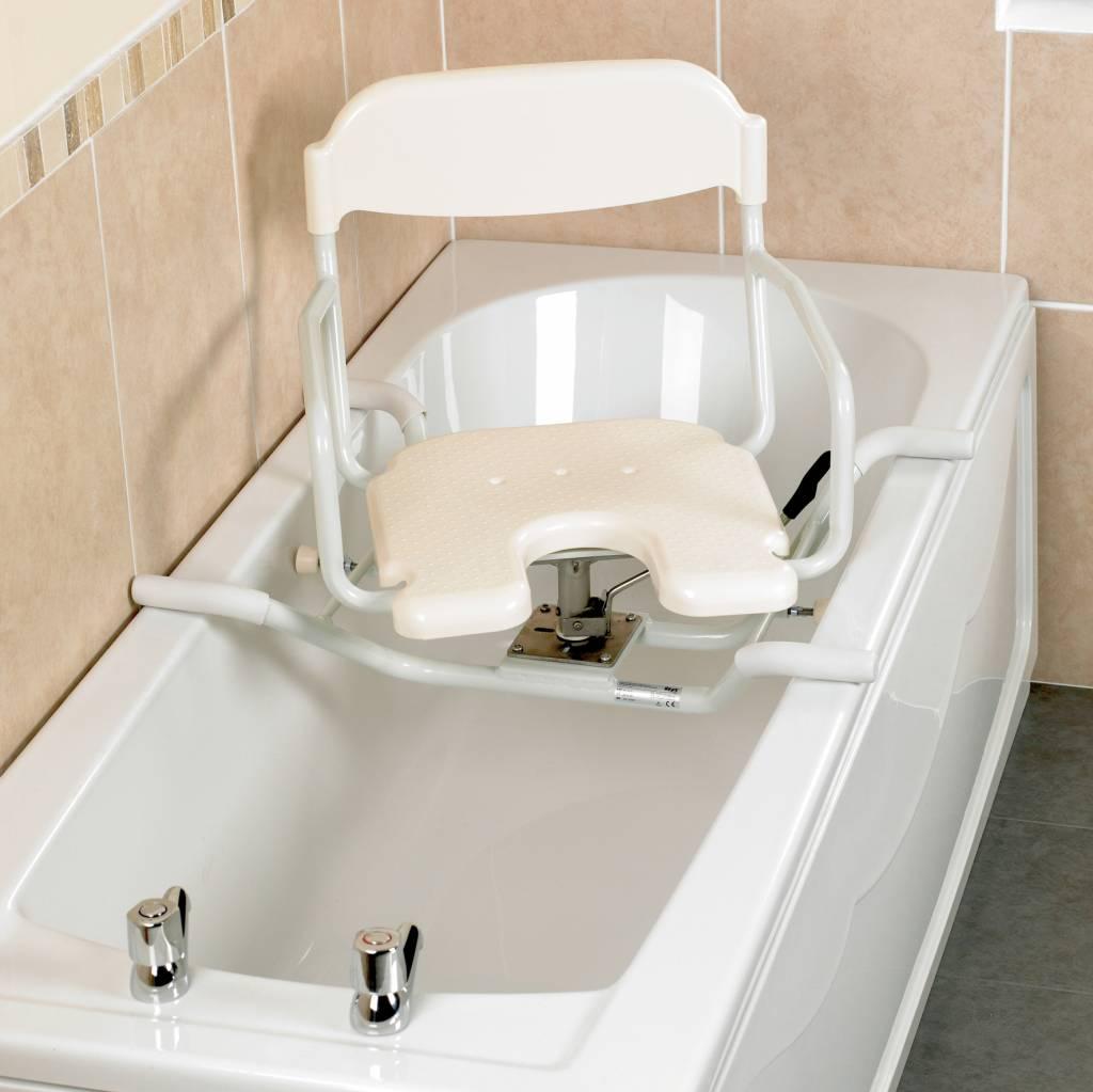 si ge de baignoire pivotant swivelling days white line soins a domicile webshop livraison. Black Bedroom Furniture Sets. Home Design Ideas