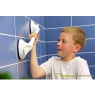 Wandbeugel op zuignap Mobeli® kindergreep 26 mm Ø met veiligheidsindicator