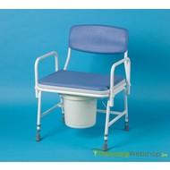 Toiletstoel XL voor zware personen