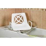 Siège de bain pivotant Swivelling en aluminium