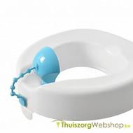 Rehausseur de toilette avec coquille de protection contre l'urine