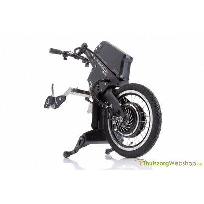 Elektrische Handbike - aankoppelfiets voor rolstoel