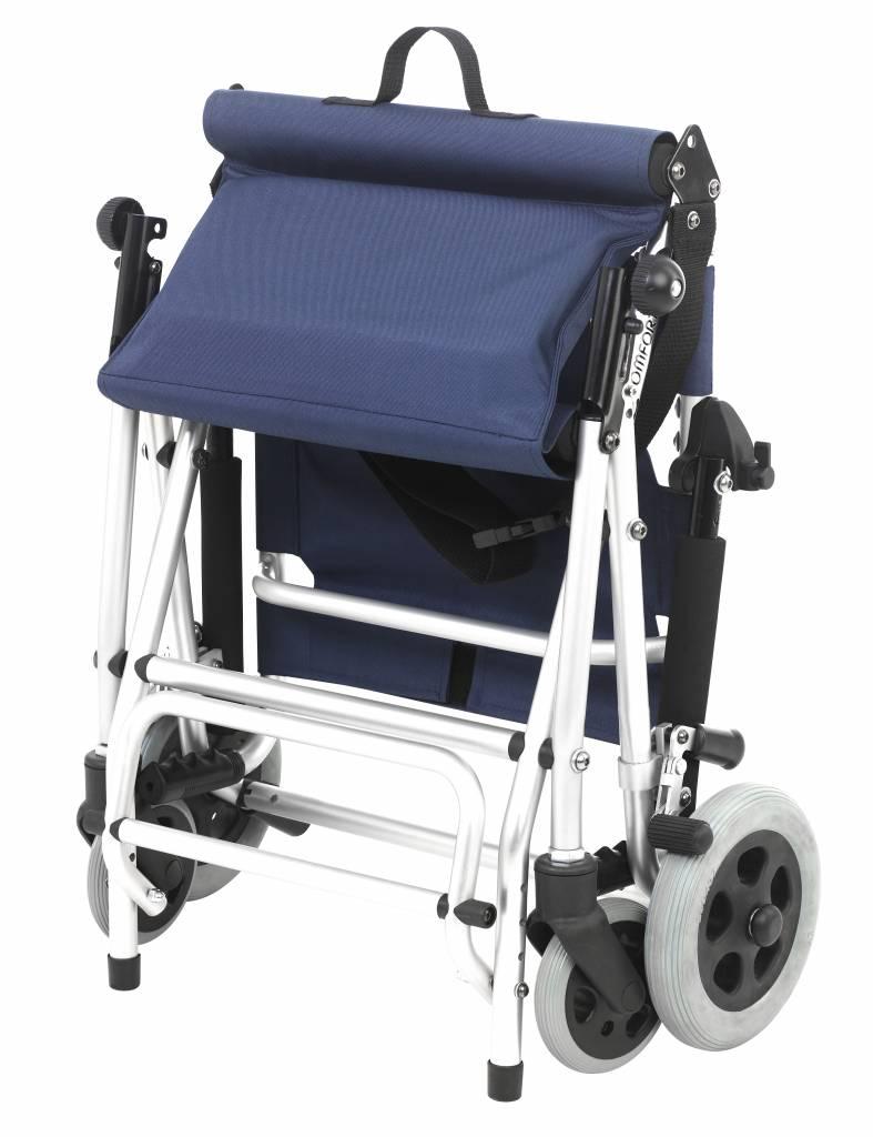 chaise roulante de transport travel chair pliable soins a domicile webshop livraison. Black Bedroom Furniture Sets. Home Design Ideas