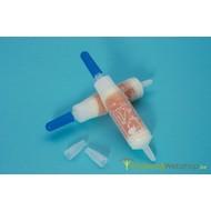 Filtres et pipettes buccales pour les attelles de Urias®-Johnstone
