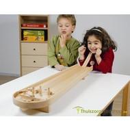 Jeu de quilles de table en bois