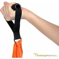 Zachte handvatten voor therapieband en tubing