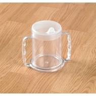 Beker met 2 extra grote handvatten