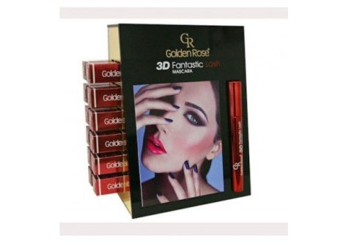 Golden Rose GOLDEN ROSE DISPLAY 3D MASCARA 12 STUKS
