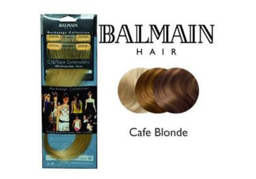 Balmain BALMAIN CLIP TAPE EXTENSION 25CM CAFE BLOND