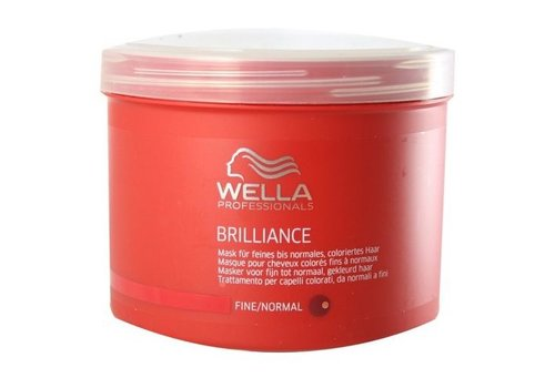 Wella Wella Brilliance Masker Voor Fijn/Normaal Haar 150ML