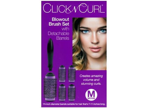 Click N Curl CLICK N CURL BLOWOUT BRUSH SET MEDIUM