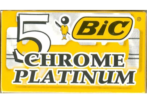 BIC CHROME PLATINIUM PAKJE 5 ST.