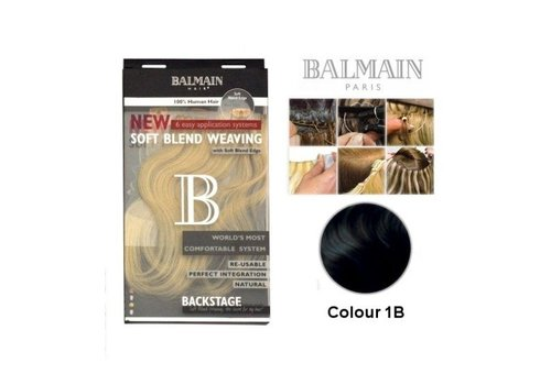 Balmain BALMAIN SOFT BLEND WEAVING 25CM 1B