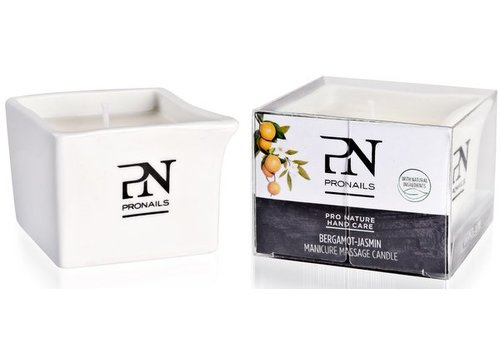 Pronails PRONAILS MANICURE MASSAGE CANDLE SANDELWOOD-LEMON
