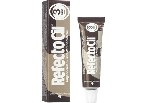 Refectocil REFECTOCIL WIMPERVERF 3 NATUURBRUIN