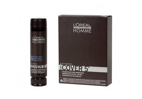 Loreal LOREAL HOMME COVER5 5 LICHTBRUIN