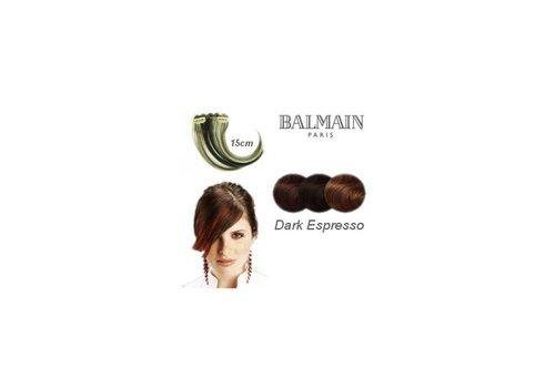 Balmain BALMAIN COLOR FRINGE 15CM DARK ESPRESSO