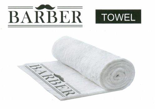 BARBERTOWEL WHITE TREND 99151