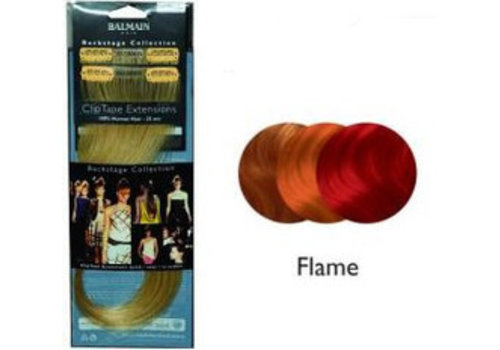 Balmain BALMAIN CLIP TAPE EXTENSION 25CM FLAME